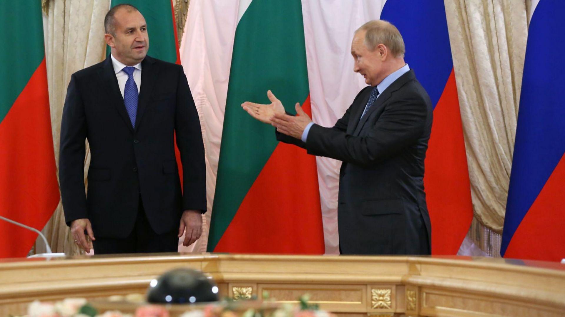 """Радев се срещна с Путин: Русия има място в АЕЦ """"Белене"""", кабинетът да договори по-ниска цена на газа"""