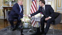 Макрон и Тръмп с временно примирие за дигиталния данък