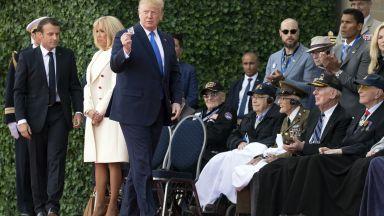 Важни срещи, забележимо отсъствие и една раздяла - световни лидери в Нормандия