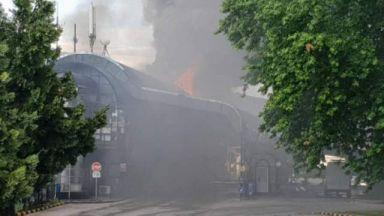 Късо съединение запали митницата в Златарево