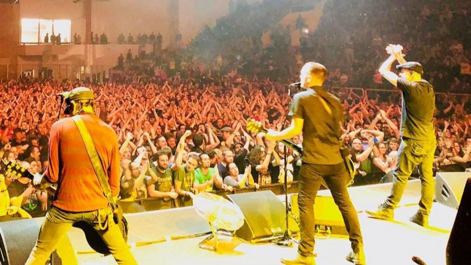 Американска банда спря концерта си в София заради нацистки поздрав