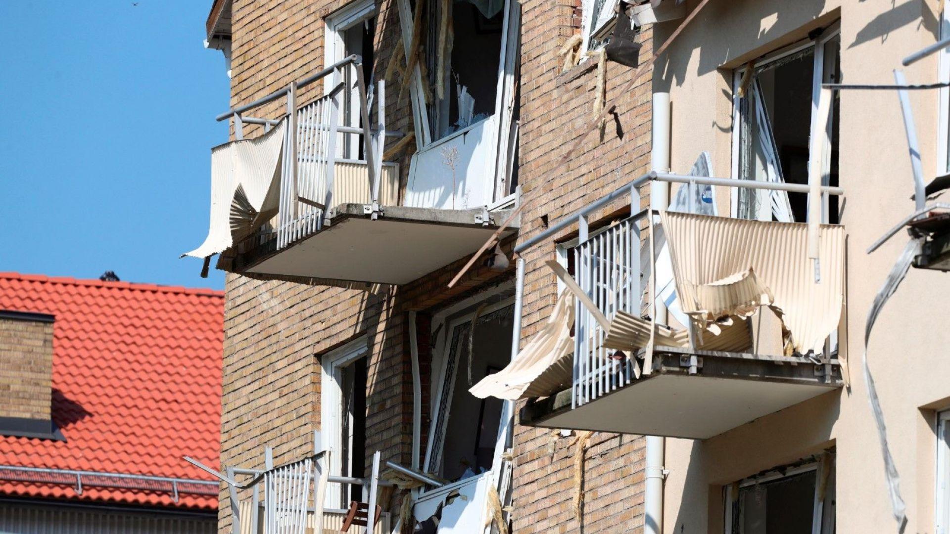 Взрив разтърси две жилищни сгради в шведски град, 25 души са ранени