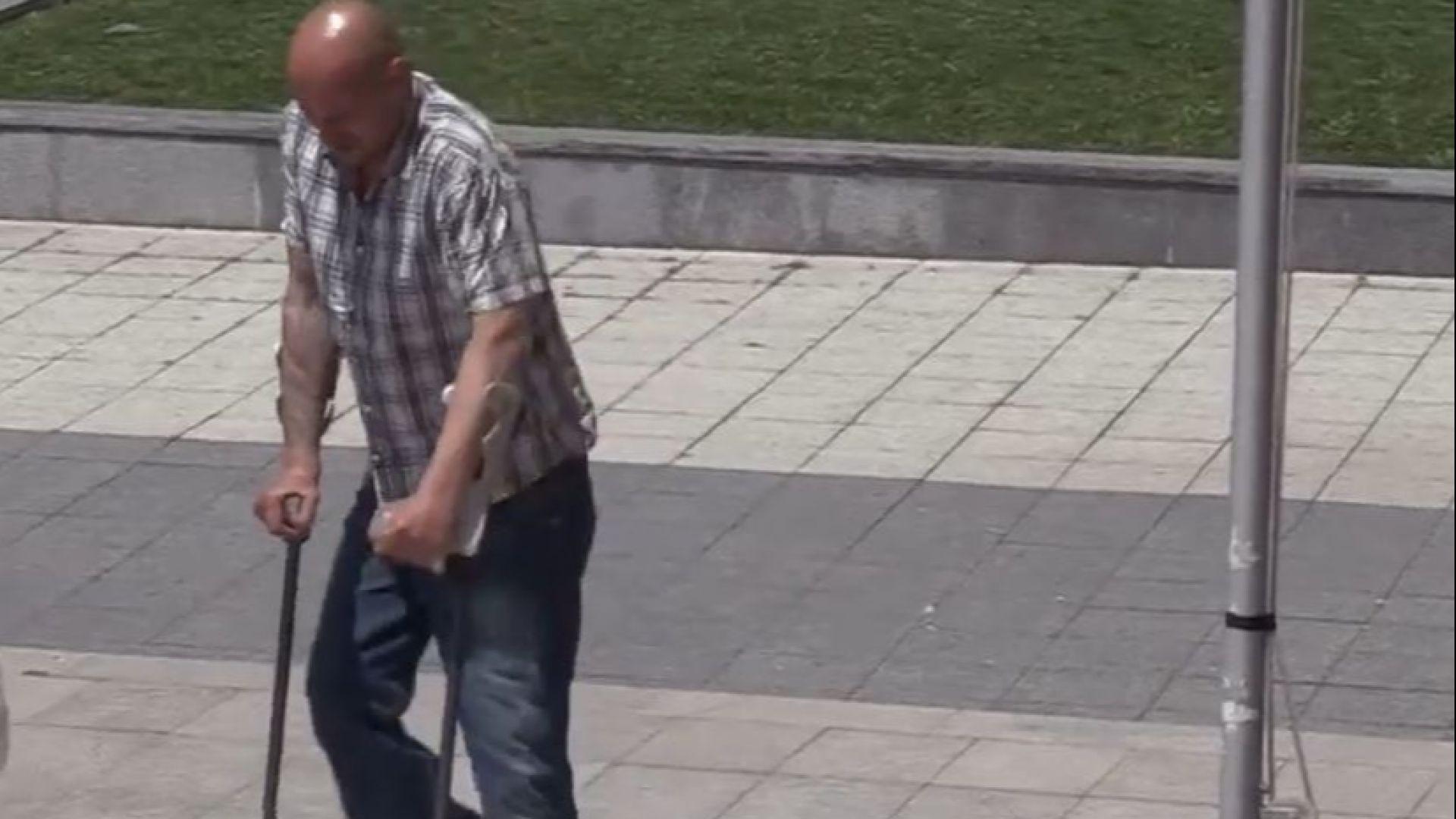 Осъдиха на затвор мъж със 100% инвалидност, самолекувал се с марихуана (видео)