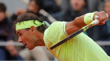 Безпощаден Надал издуха от корта Федерер и докосва 12-ата в Париж