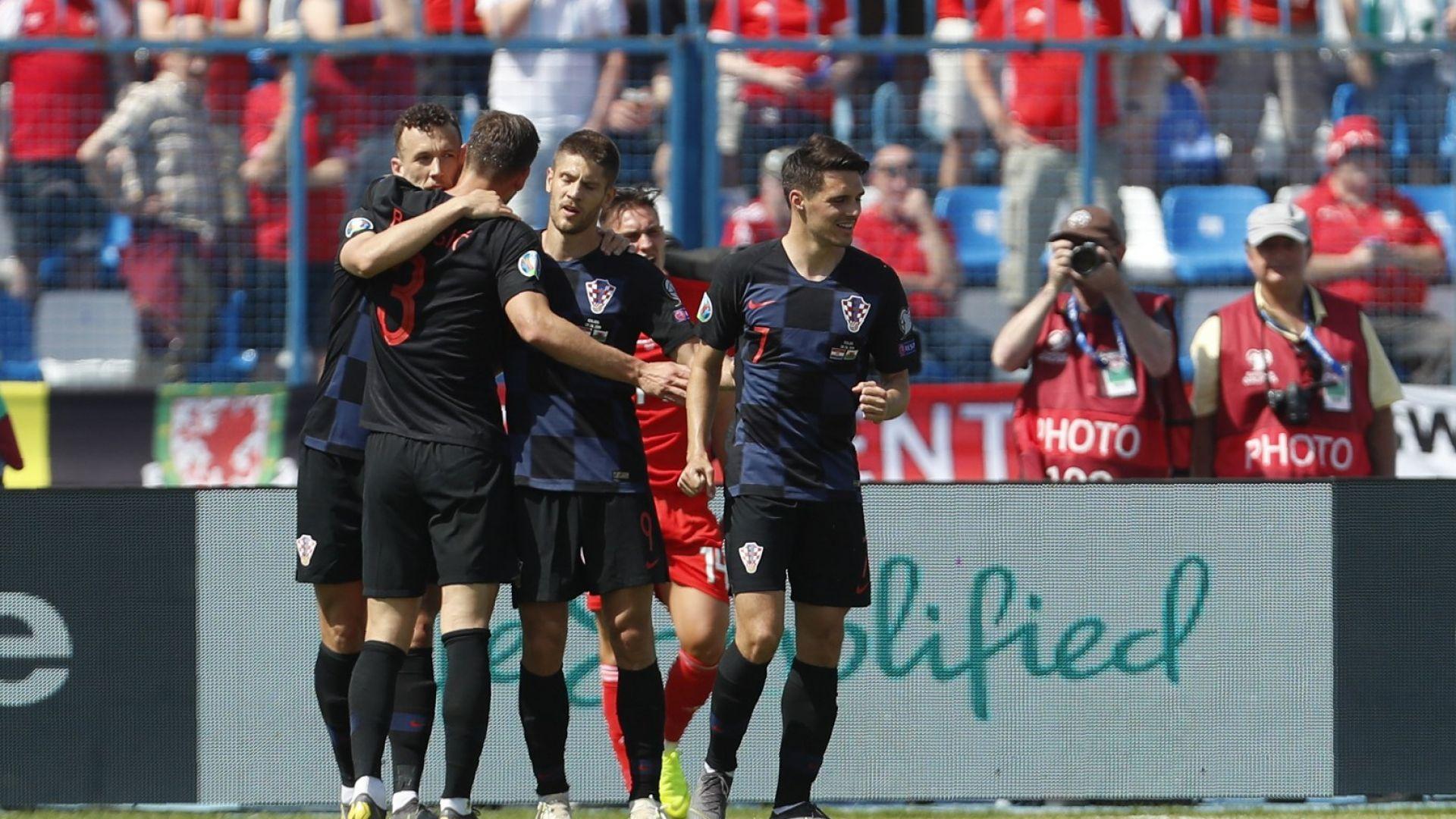 Хърватите се справиха с Гарет Бейл и оглавиха групата си