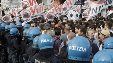 Венеция протестира: Големите кораби вън от лагуната