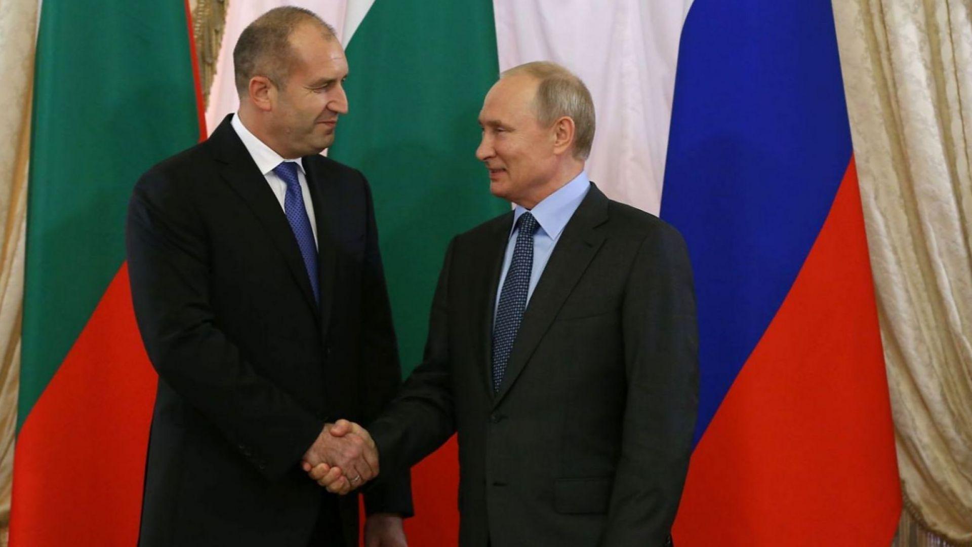 Румен Радев при второто си посещение в Русия тази година се срещна с президента Владимир Путин