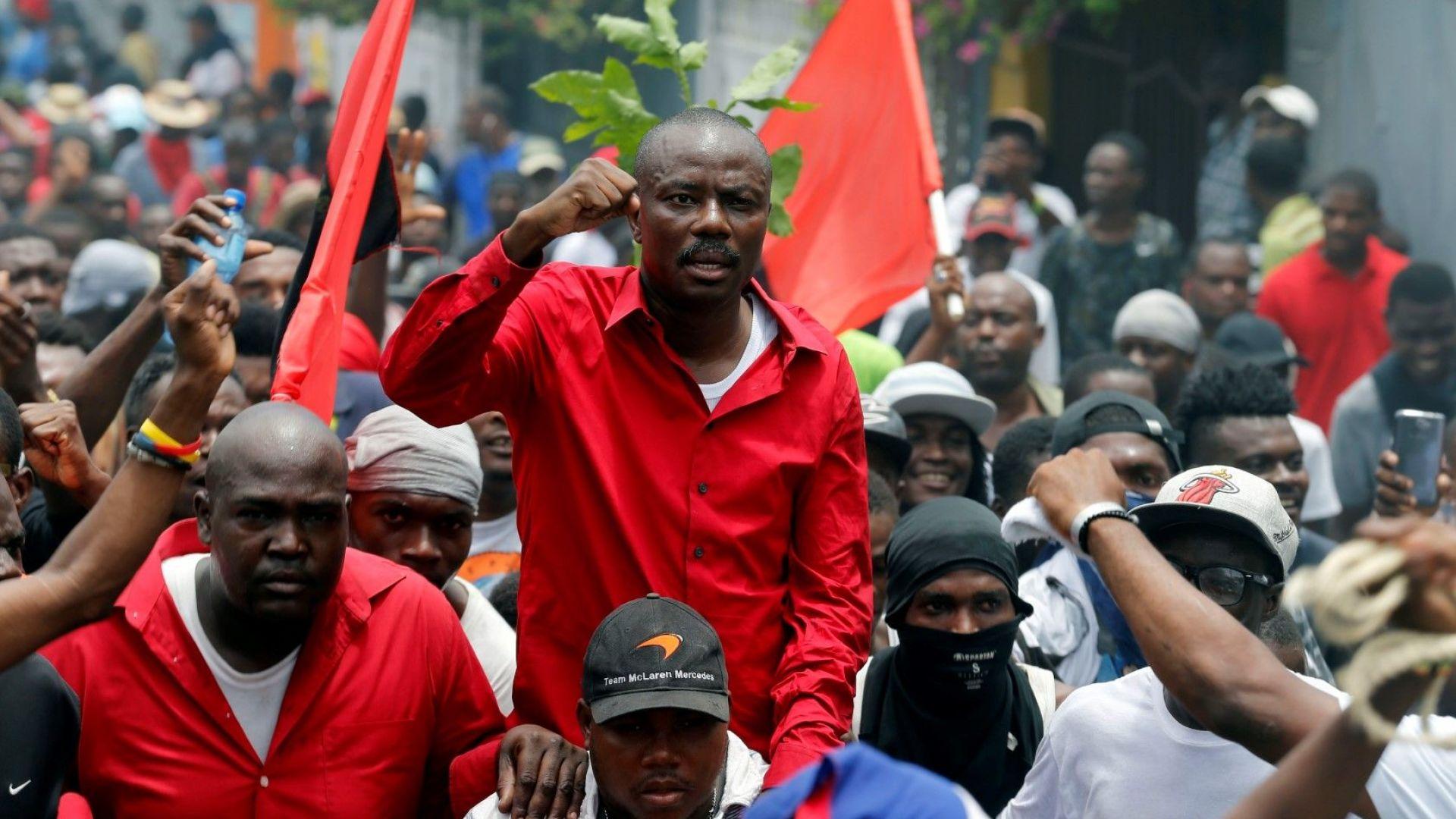 Двама души загинаха при протести в Хаити