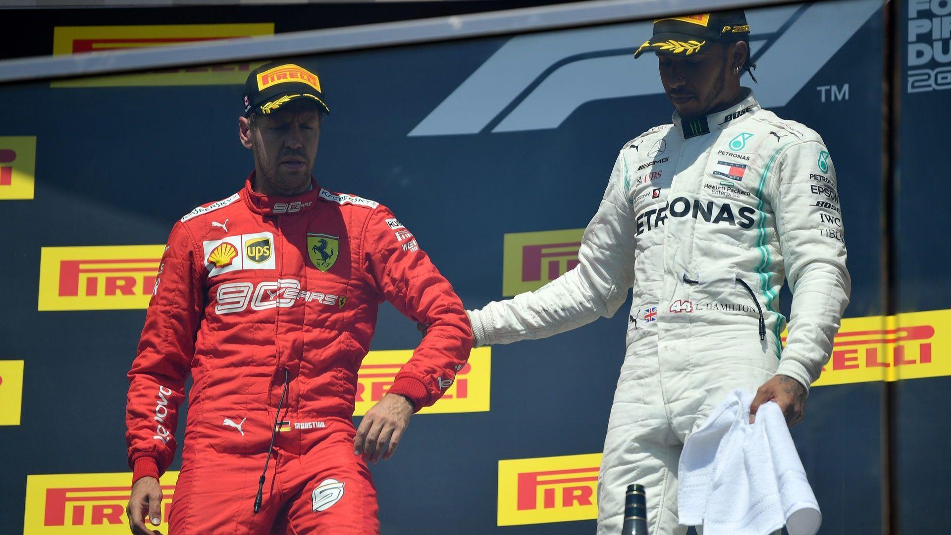 """""""Ферари"""" си иска победата след обяснение на наказанието на Фетел"""
