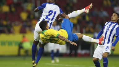 Бразилия се забавлява с голеада в навечерието на Копа Америка