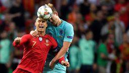 Холандец се похвали: Кристиано ме поиска в Ювентус