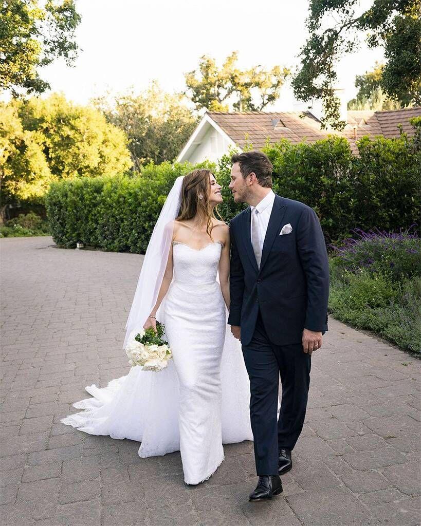 Сватбения ден на Катрин Шварценегер и Крис Прат