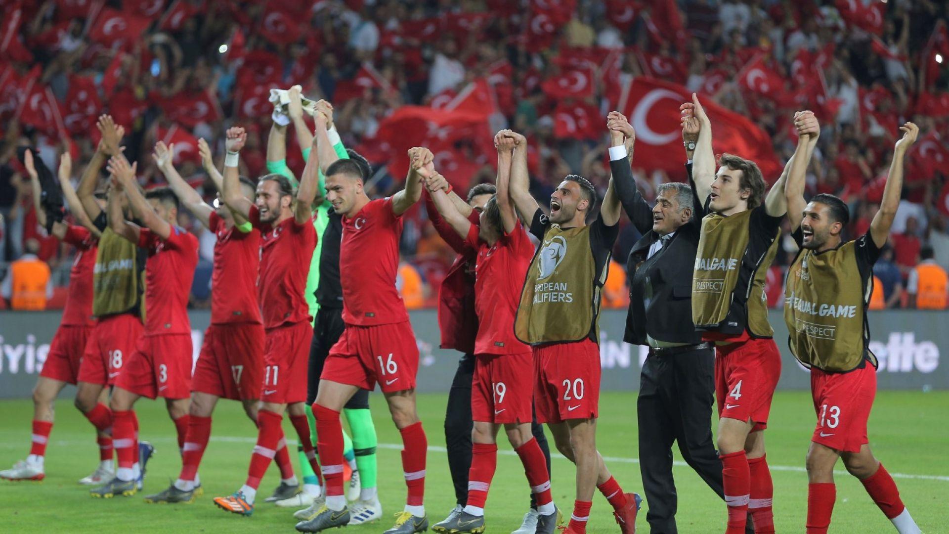 Tурция отправи нота към Исландия заради отношението към футболистите