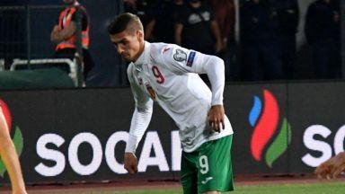 Травма в глезена вади Десподов от решаващите мачове на България