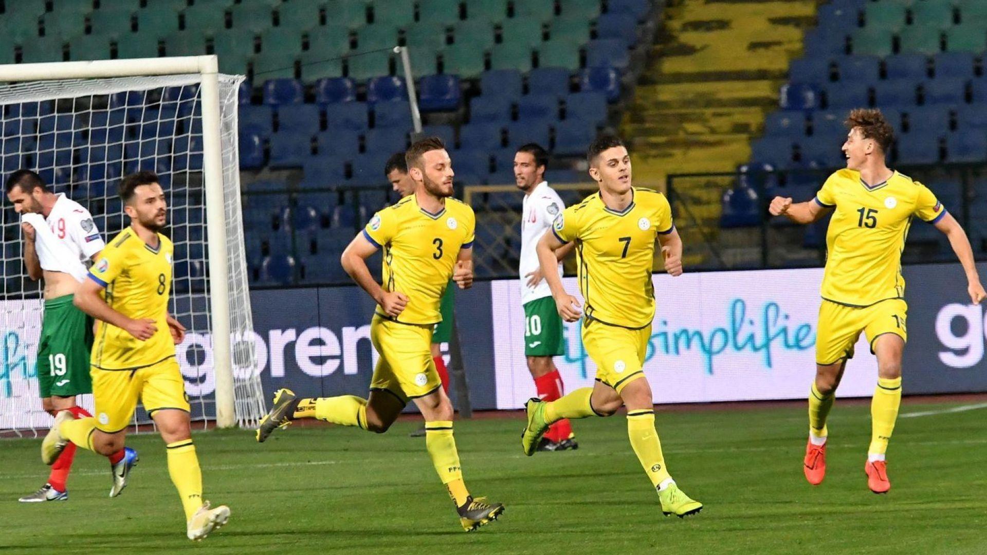 Луда радост в Косово, президентът Тачи вече мисли за Евро 2020