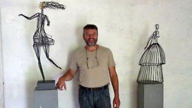 Скулпторът Живко Седларски пристига от Франция, реди изложба в Пловдив