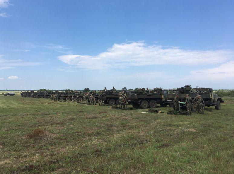 """До 13 юни са планирани съвместни дневни и нощни пускове със зенитно-ракетен комплекс (ЗРК) """"ОСА"""""""