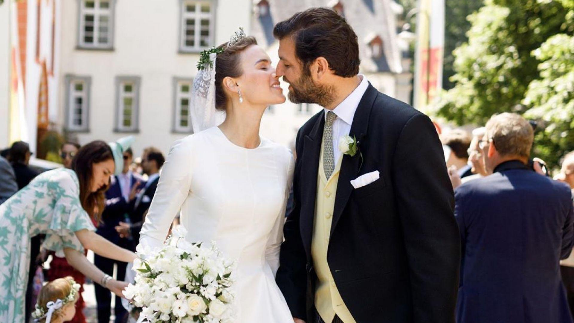Германският принц Казимир се ожени за модел