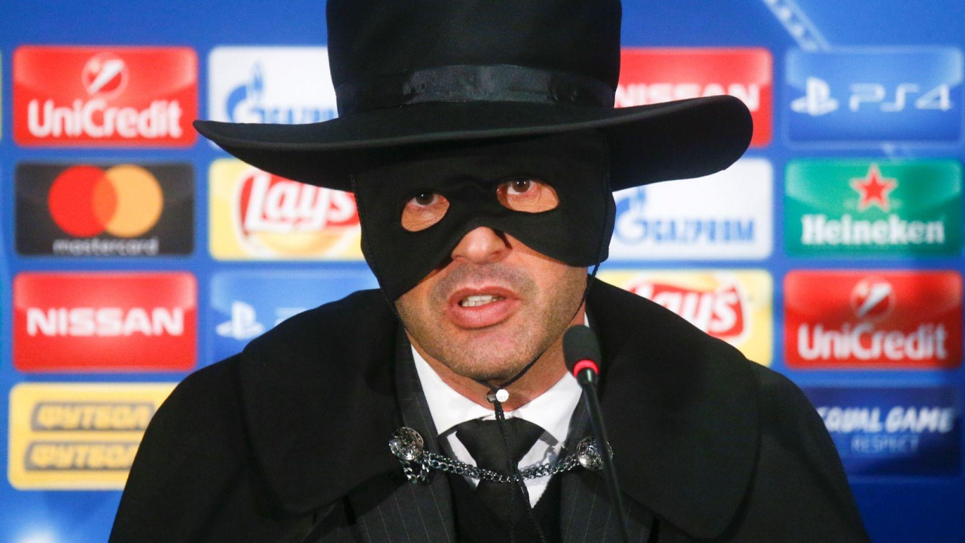 """Рома назначи """"португалския Зоро"""" за треньор"""