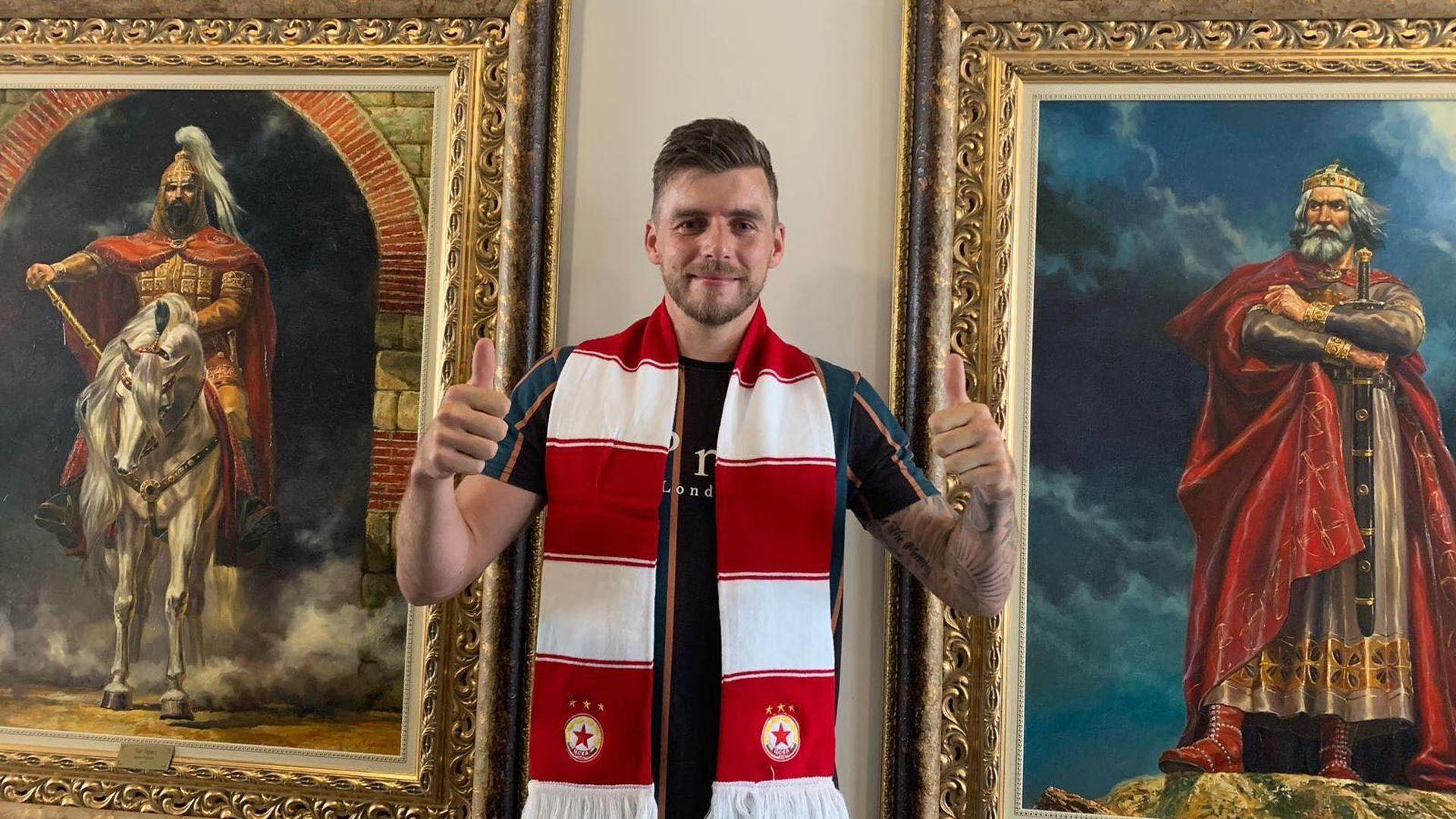 След попълнение от Шотландия, ЦСКА подписа и с ирландец