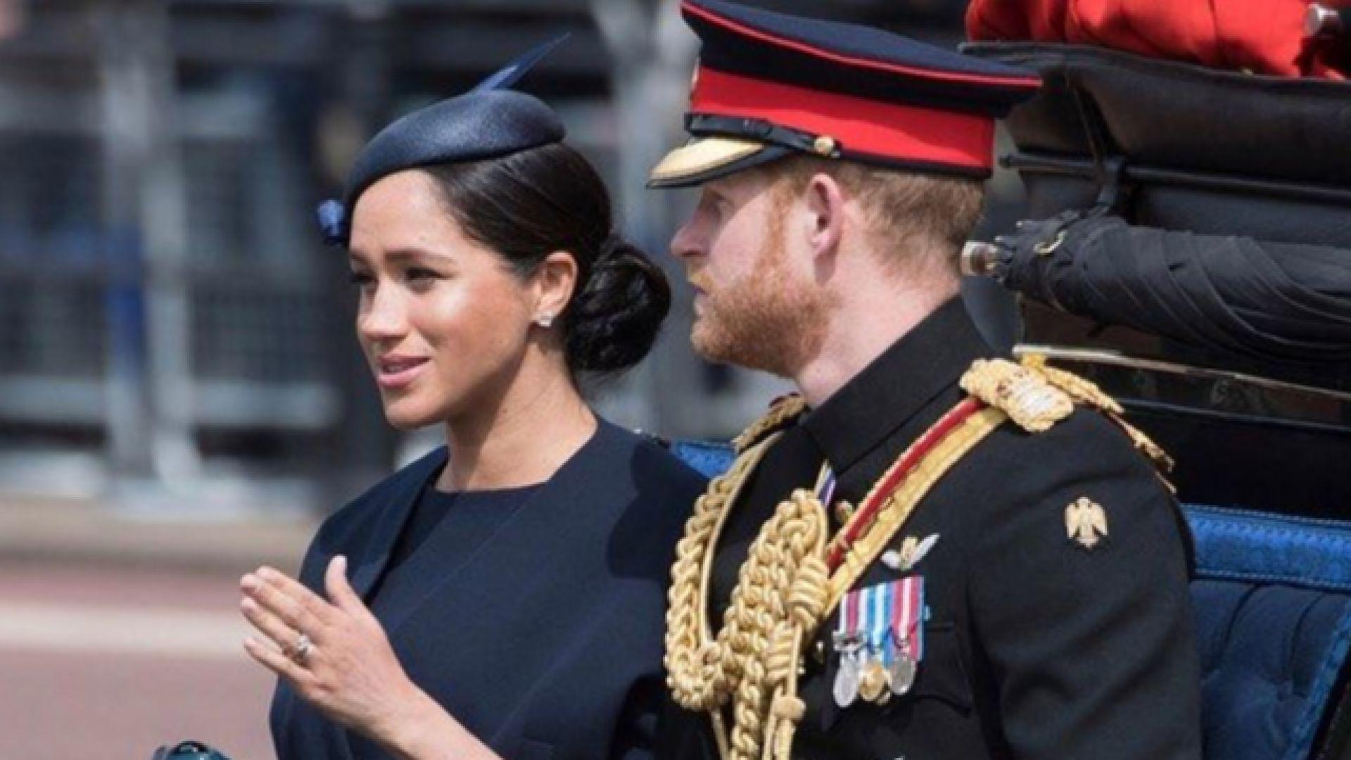 Меган Маркъл получи ново признание в любов от принц Хари