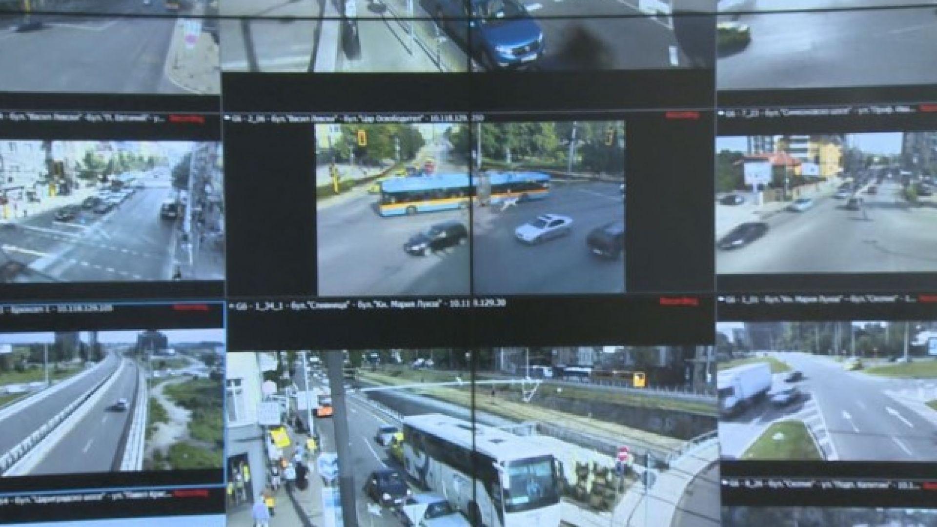 Мобилни камери на Центъра за управления на трафика към Столичната