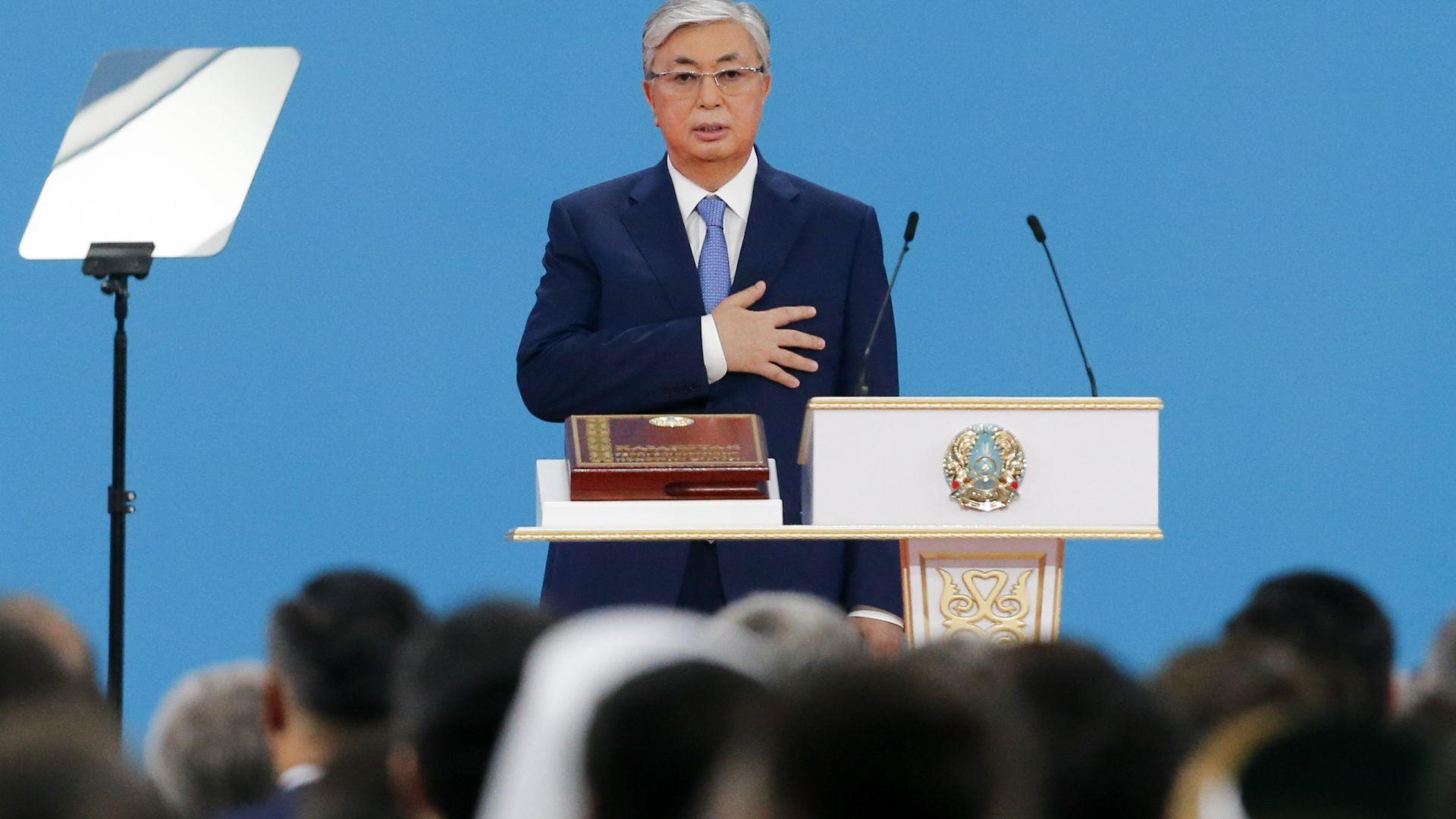 Токаев положи клетва като президент на Казахстан (снимки)