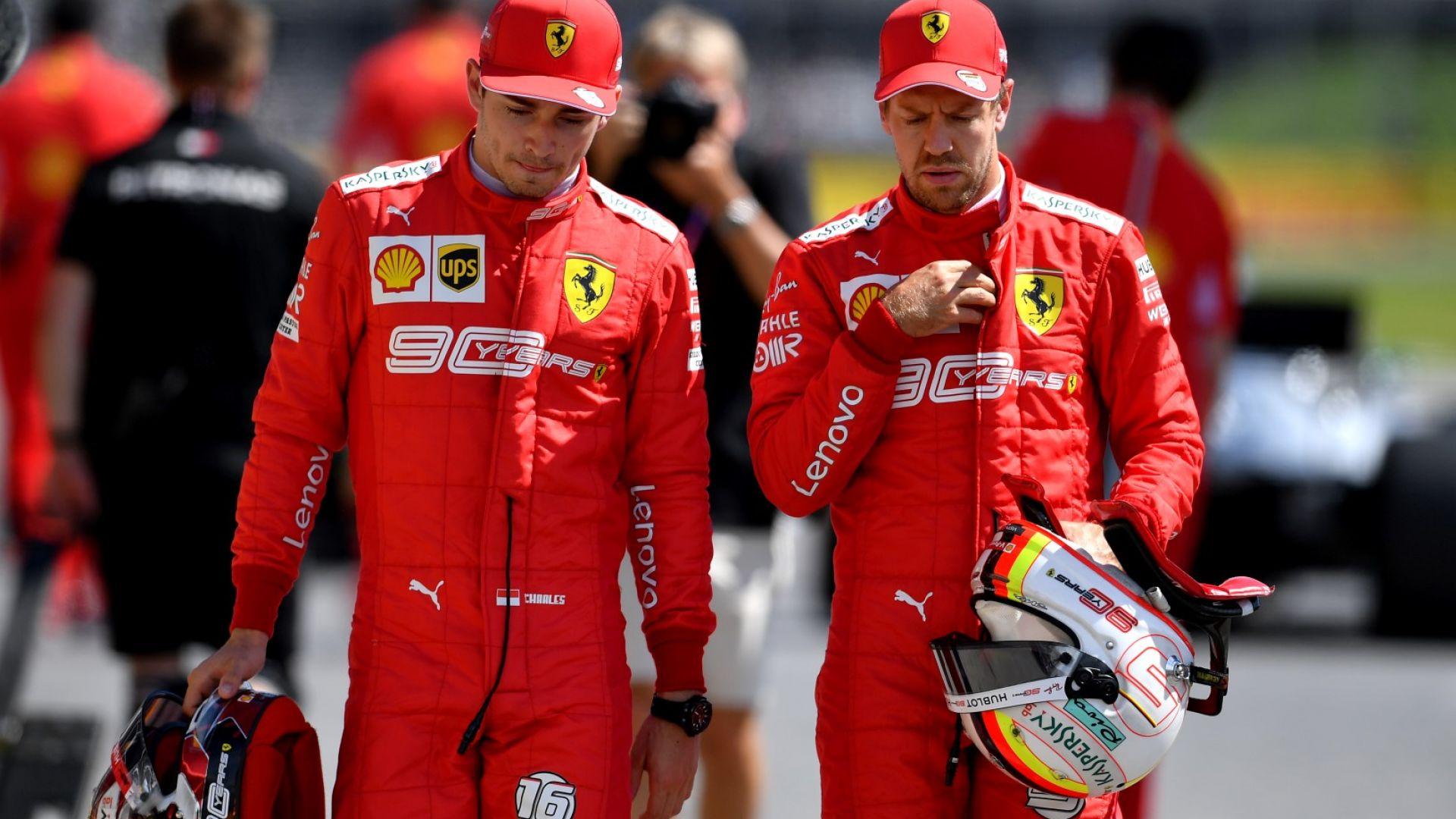 """""""Ферари"""" помирява пилотите си след глупостта в Бразилия"""