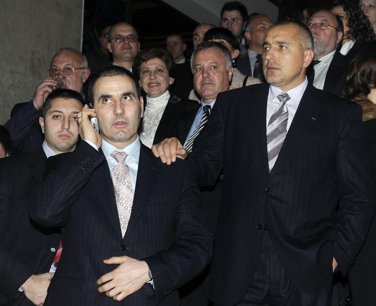 С Цветан Цветанов през 2008 г.