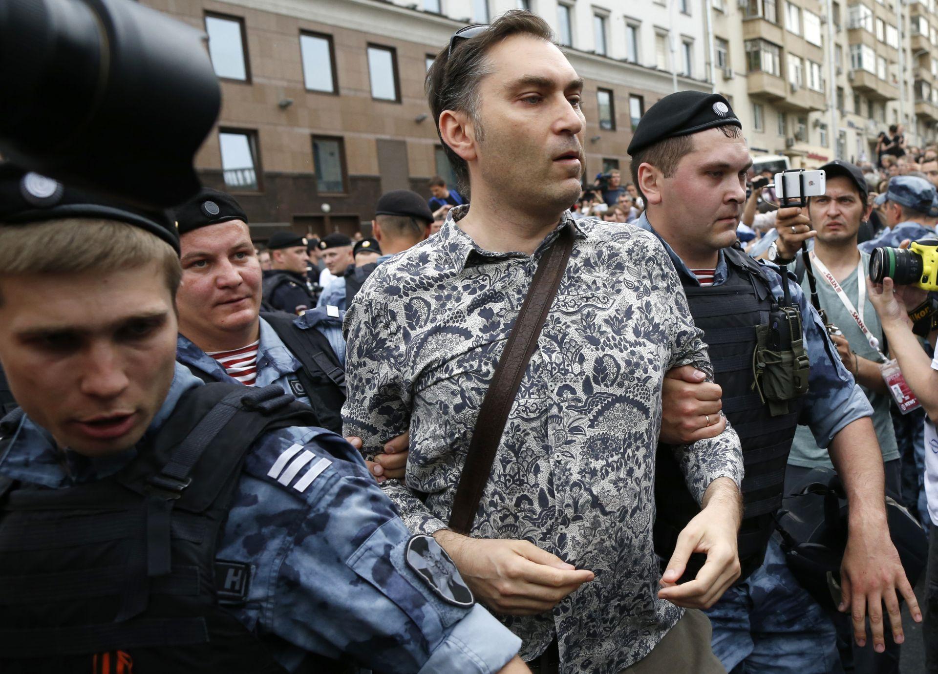 Протестът не беше разрешен от столичната община