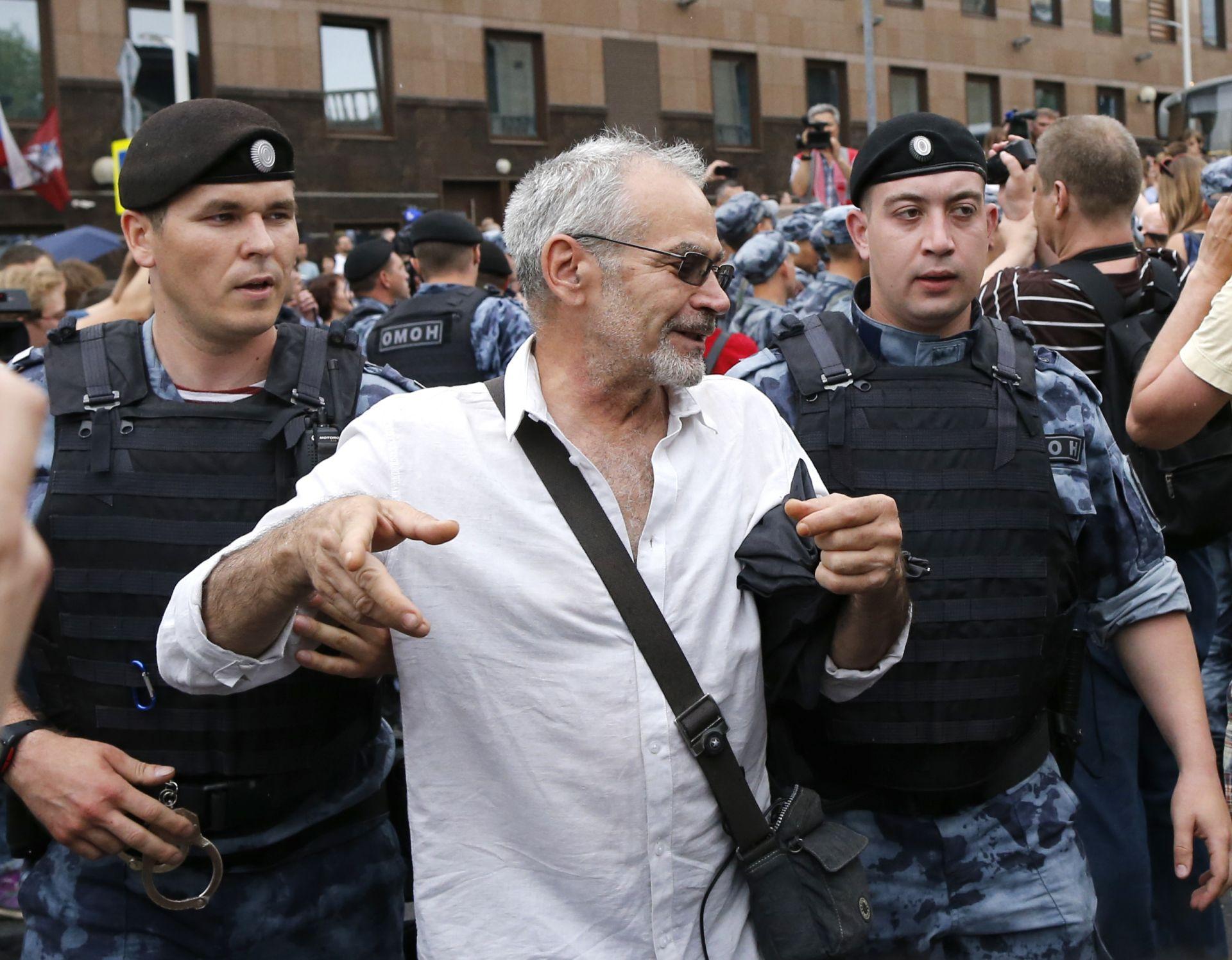 Арест на протеста за Голунов
