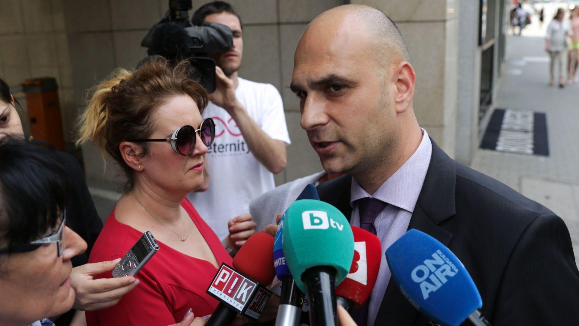 """Получихме разрешение за претърсване в офиса на """"Алфа финанс консултинг"""", заяви Димитър Франтишек"""