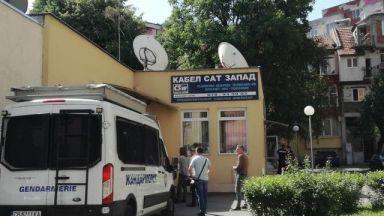 ГДБОП и жандармерия окупираха офисите на кабелен оператор