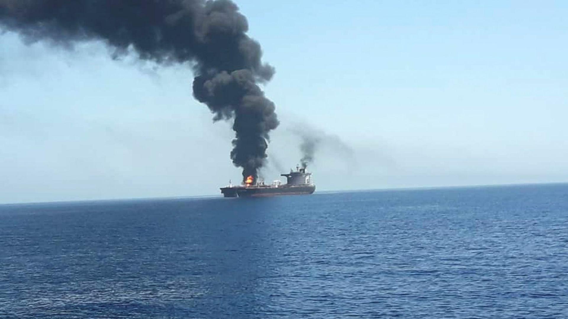 Ирански медии: Пострадал при атаката норвежки танкер е потънал в Оманския залив