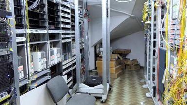 И Европол участва в акцията срещу нелегалните кабелни оператори (видео)