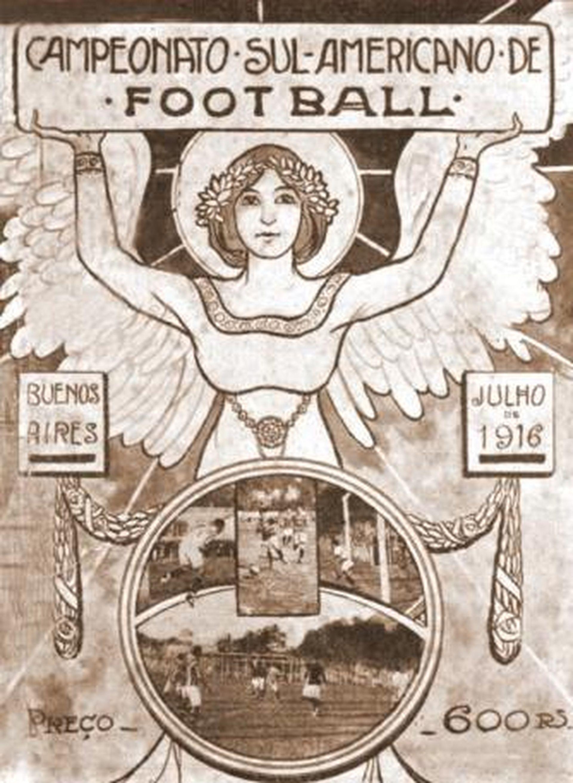 Афишът на първия турнир от 1916 г.