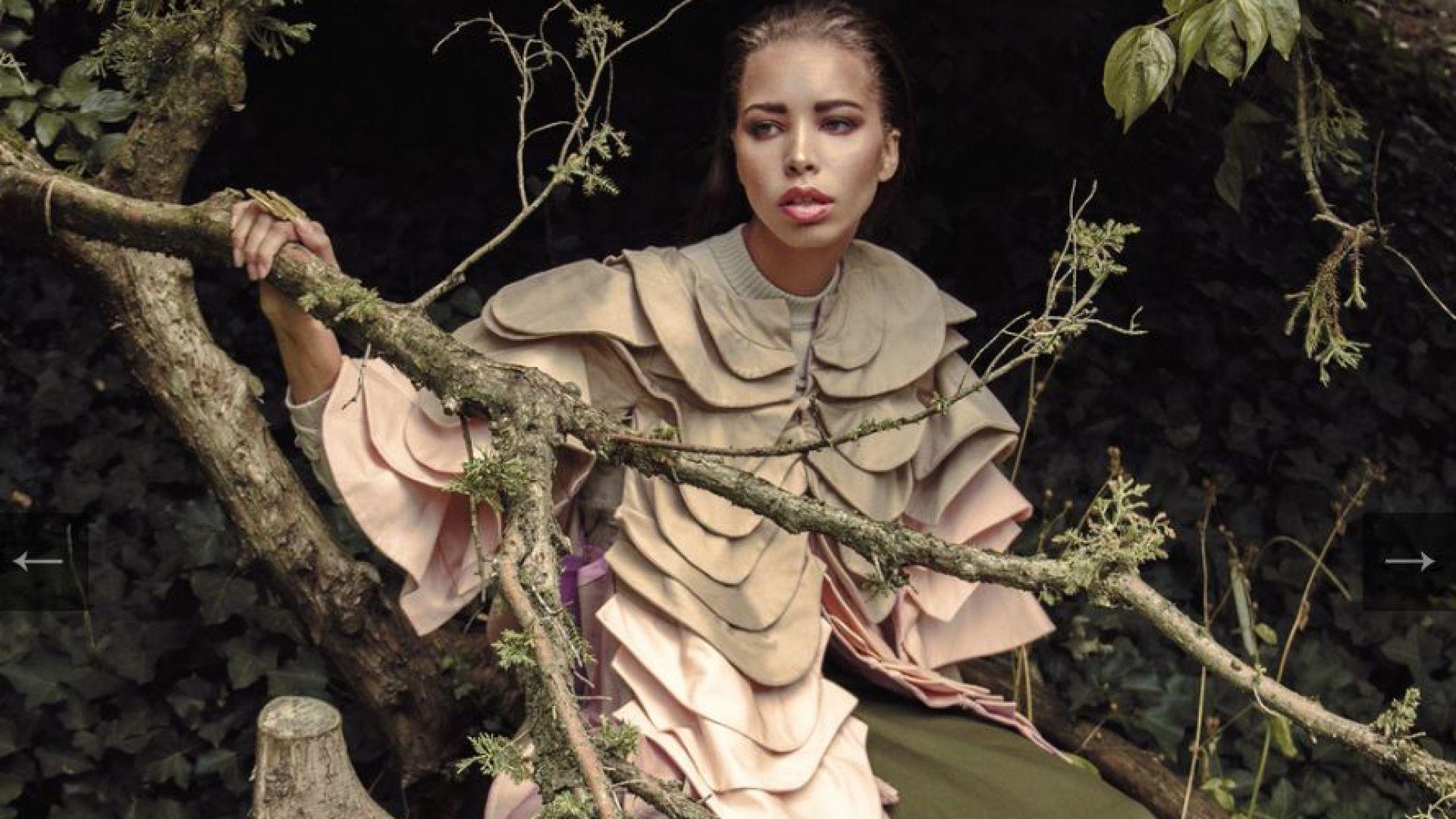 """Българката, която плени италианския """"Vogue"""""""