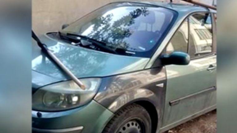 Забиха кирки в автомобила на ректора на ТУ във Варна
