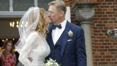 """Легендата Петeр Шмайхел се ожени за бивш модел на """"Плейбой"""" (снимки)"""