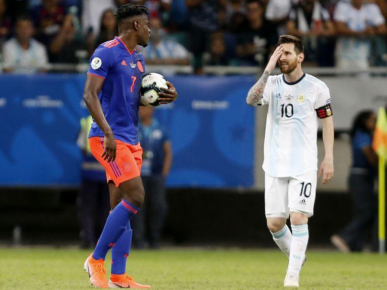 Шок за Меси и Аржентина на старта на Копа Америка