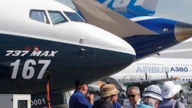 Печалбата на Боинг е потънала с 53 на сто заради спирането на 737 МАКС