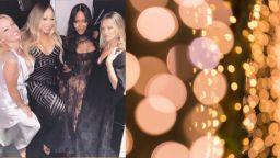 Марая Кери, Наоми Кембъл, Памела Андерсън и Кейт Мос празнуваха заедно
