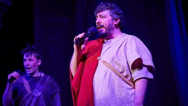 Иван Лечев свири на живо пред римски император