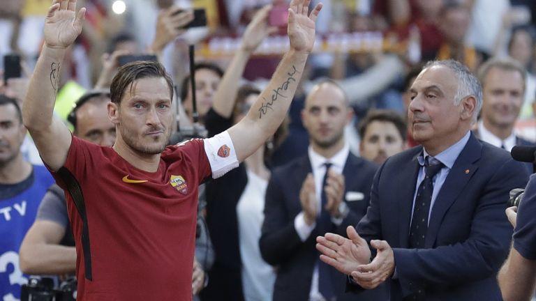 Големият Франческо Тоти напусна обиден и огорчен Рома