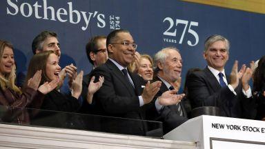 Сотбис продадена за 3.7 млрд. долара