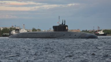 Появиха се снимките на най-новата ядрена подводница на Русия