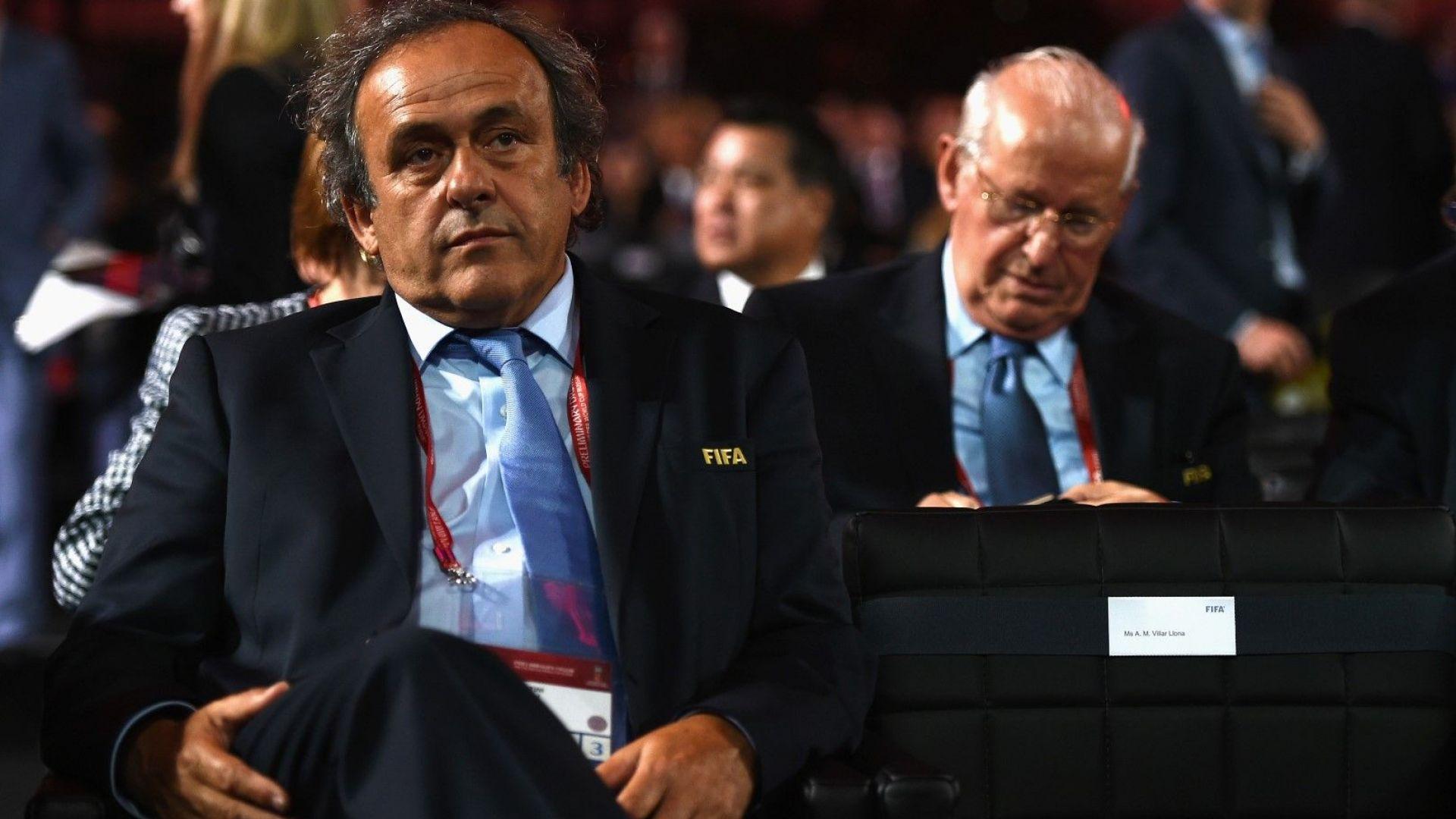 ФИФА съди Блатер и Платини за прибрани 2 милиона швейцарски франка
