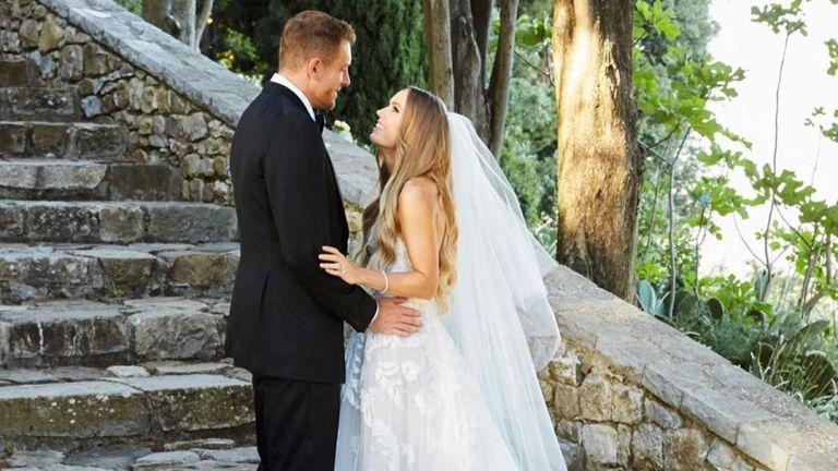 Като принцеса – Каролина Вожняцки се омъжи за Дейвид Лий