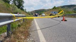 Задържаха шофьора, убил велосипедист и хвърлил тялото му в канавката