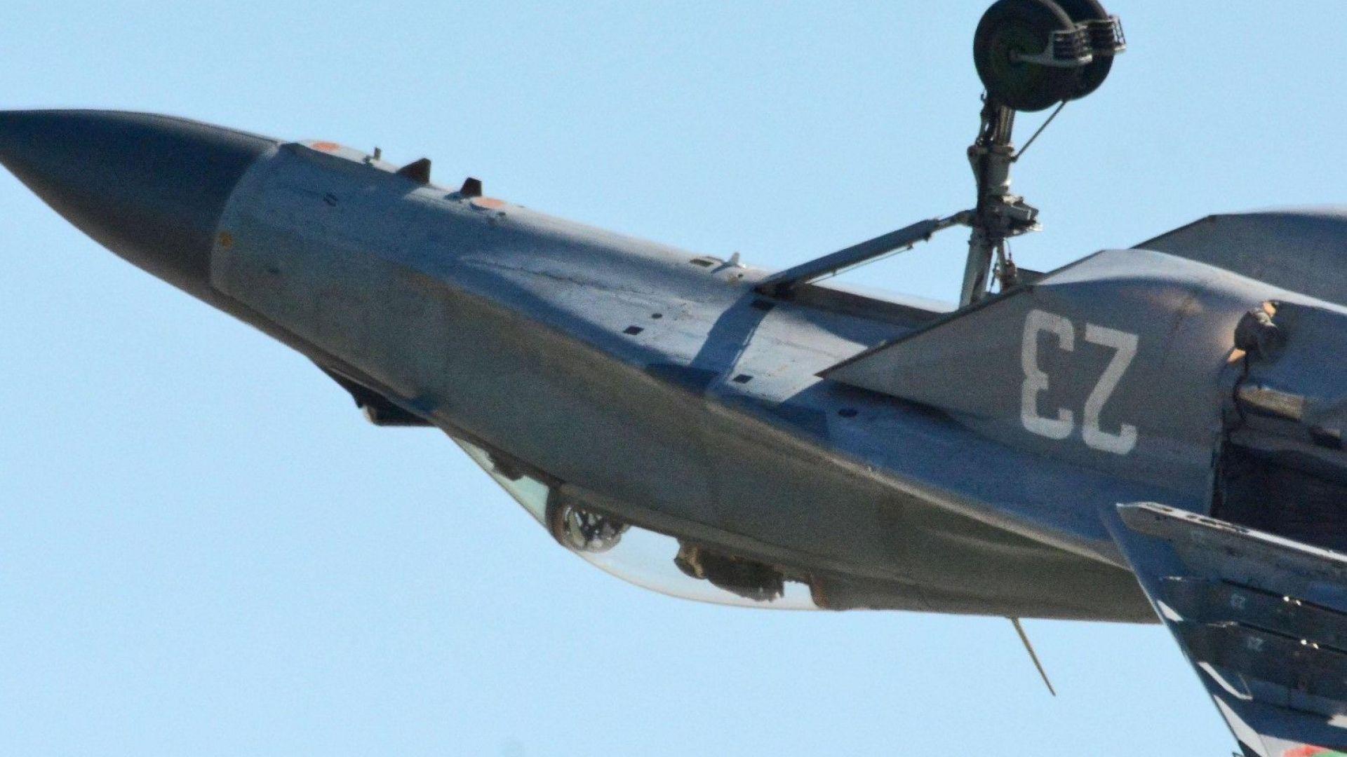 Висшият пилотаж на Радев е документиран